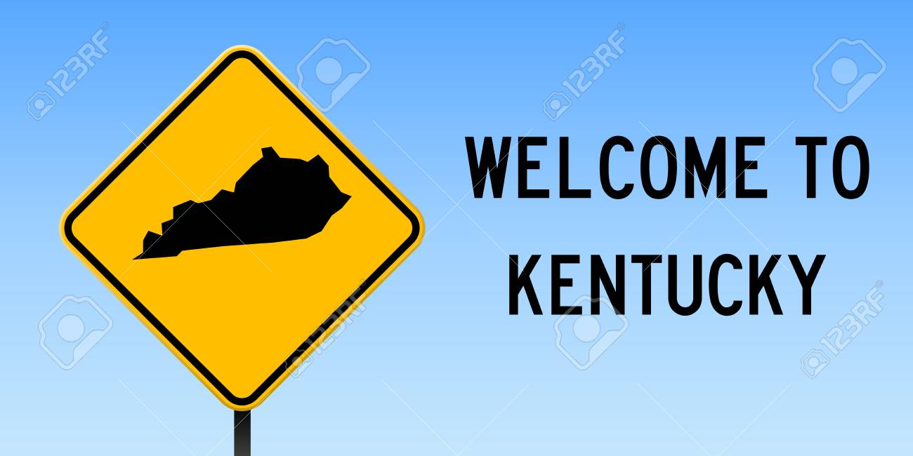 Kentucky map on road sign. Wide poster with Kentucky us state.. on interstate 264 kentucky, google maps kentucky, special olympics kentucky, gamaliel kentucky, glendale kentucky, whitley city kentucky, state map kentucky, hillview kentucky, princeton kentucky, united states kentucky, quotes about kentucky, elsewhere kentucky, hellhound kentucky, interstate 69 kentucky, magoffin county kentucky, middletown kentucky, bowling green kentucky, anchorage kentucky, city of kentucky, downtown richmond kentucky,