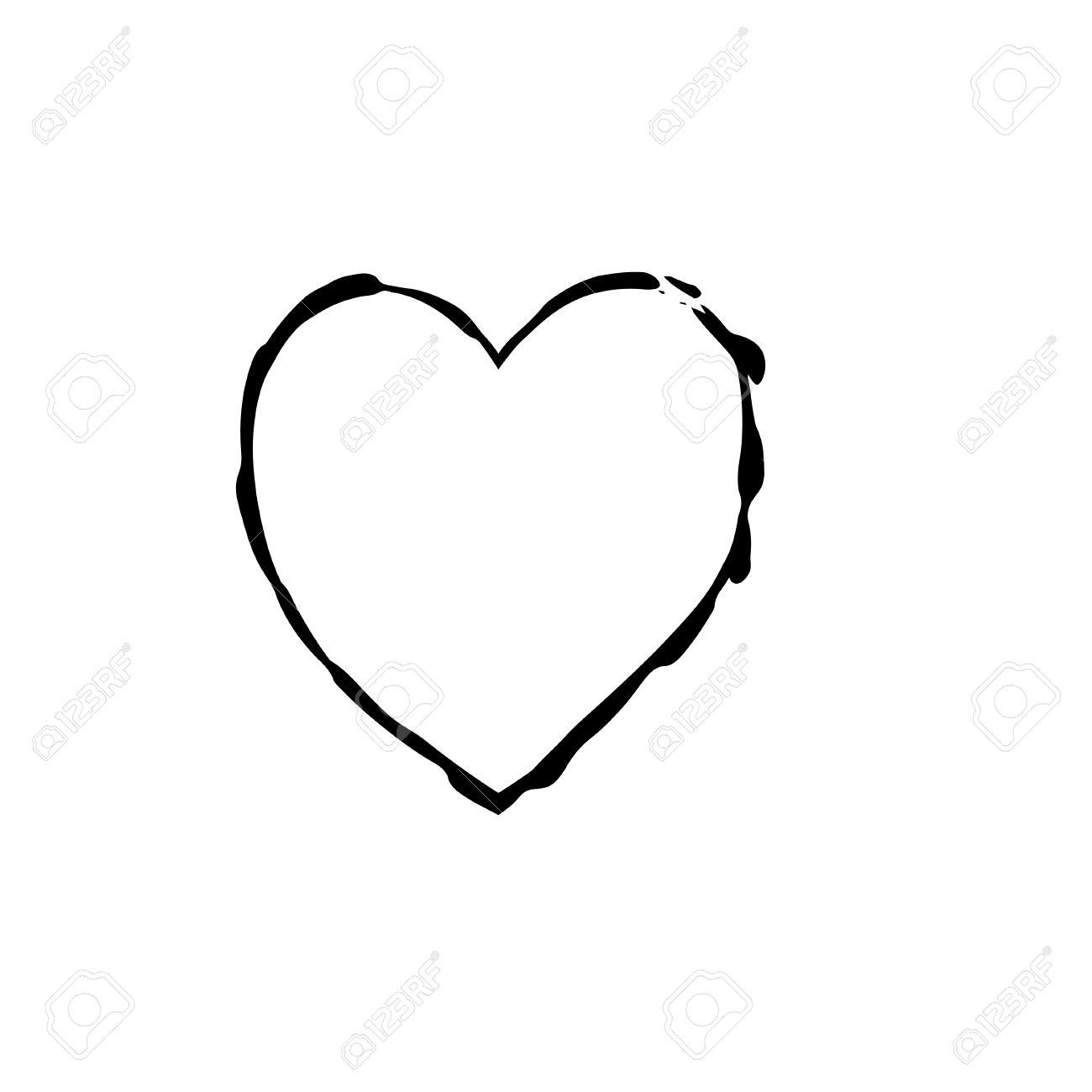 Heart shape symbol love vector black heart symbol wedding and heart shape symbol love vector black heart symbol wedding and valentine day heart black buycottarizona Image collections