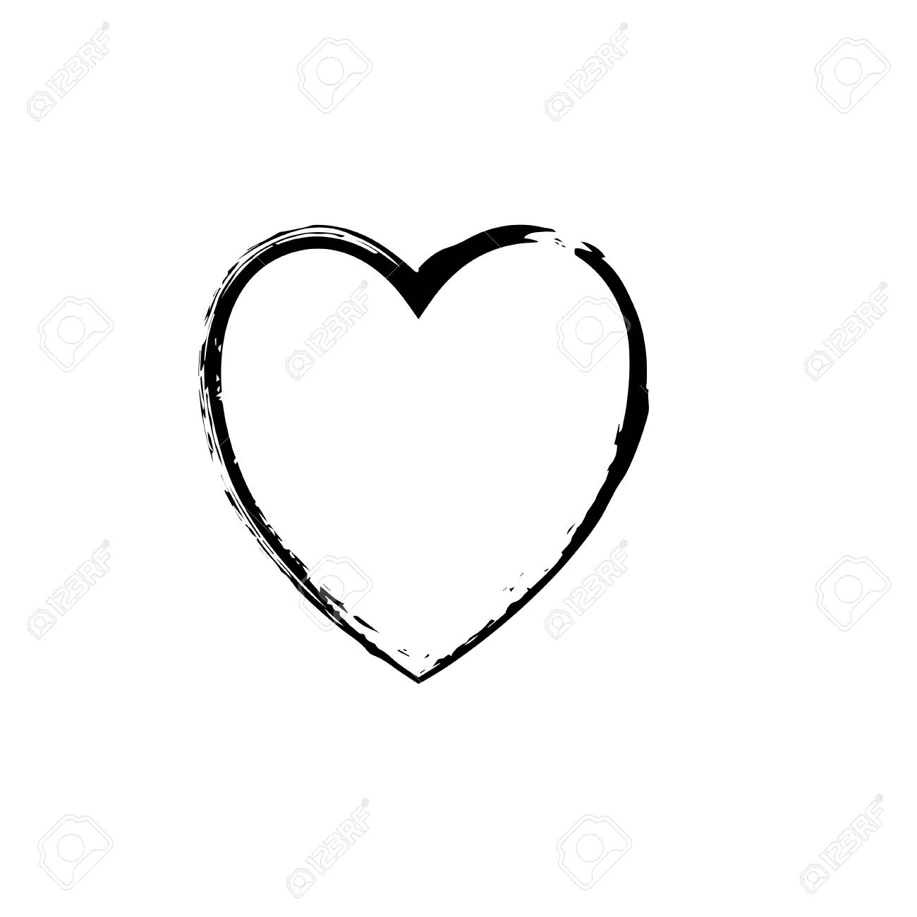 Heart Symbol Outline Best Clipart Gallery