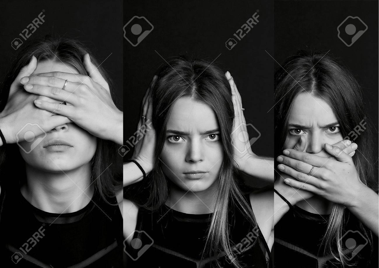Collage See No Evil Hear No Evil Speak No Evil Collage The