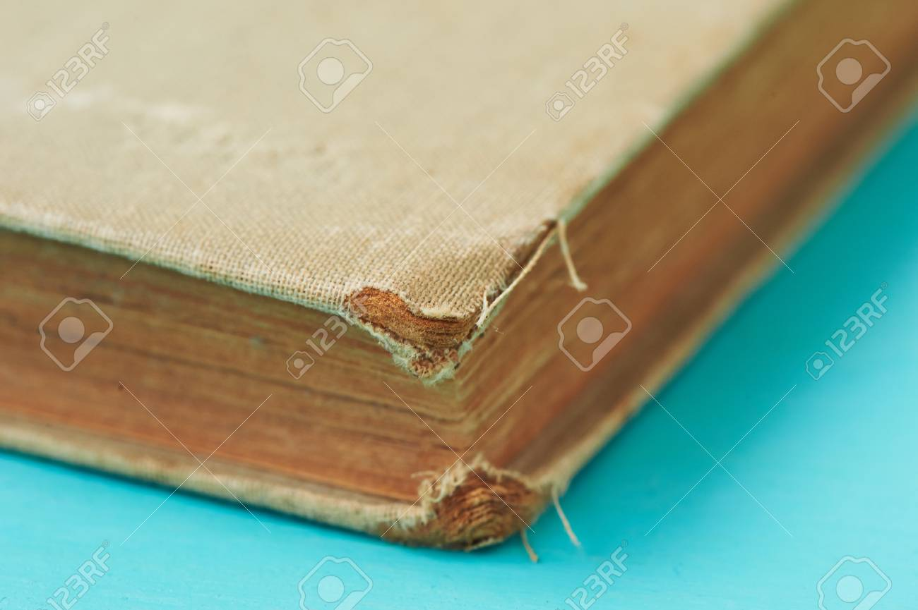 Old worn book in a canvas cover the symbol of knowledge and old worn book in a canvas cover the symbol of knowledge and learningose biocorpaavc Gallery
