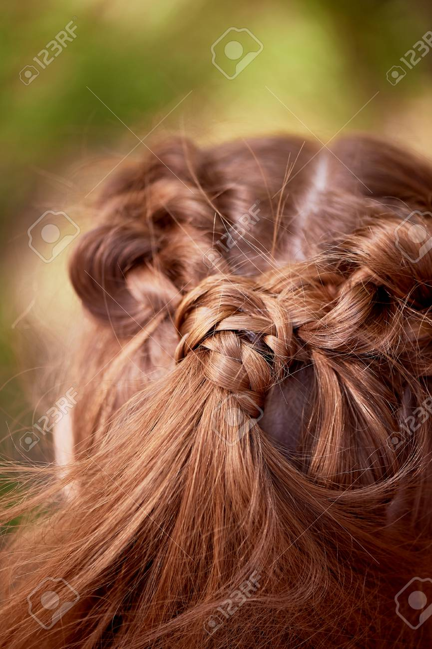 Wedding Hairstyles For Thick Red Hair Hair Close