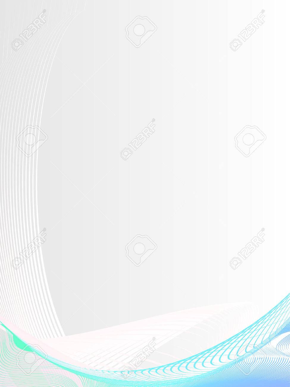 abstract background, stylized waves, place for text Stock Vector - 2544755