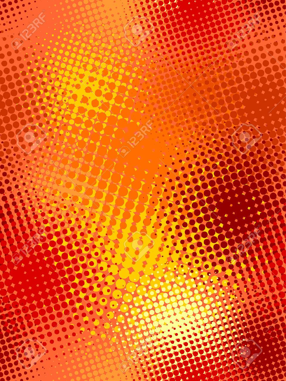seamless pattern, vector halftone effect, illusion of the gradient Stock Vector - 2783406
