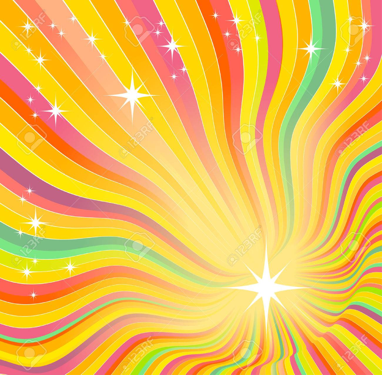 beautiful glow, vector abstract background - 5616509