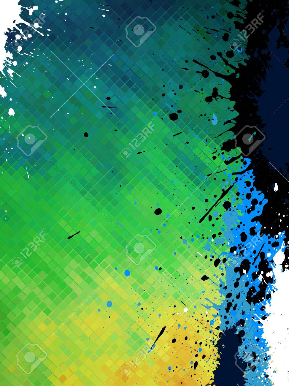 abstract grunge background - 7135909