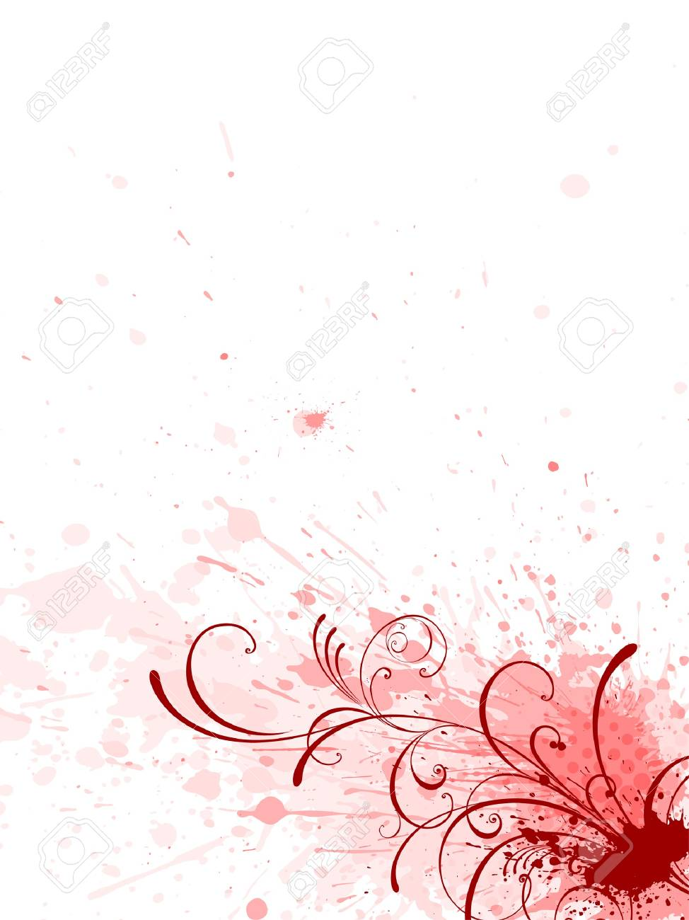 floral background, EPS 10, vector, floral style Stock Vector - 7310326