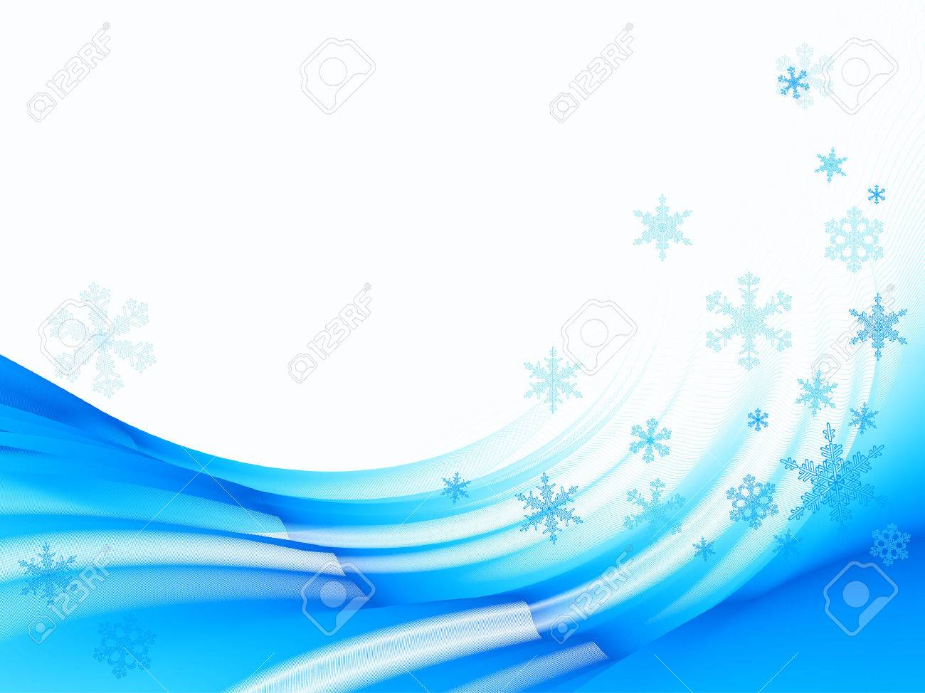 christmas background with snowflakes Stock Vector - 7912359