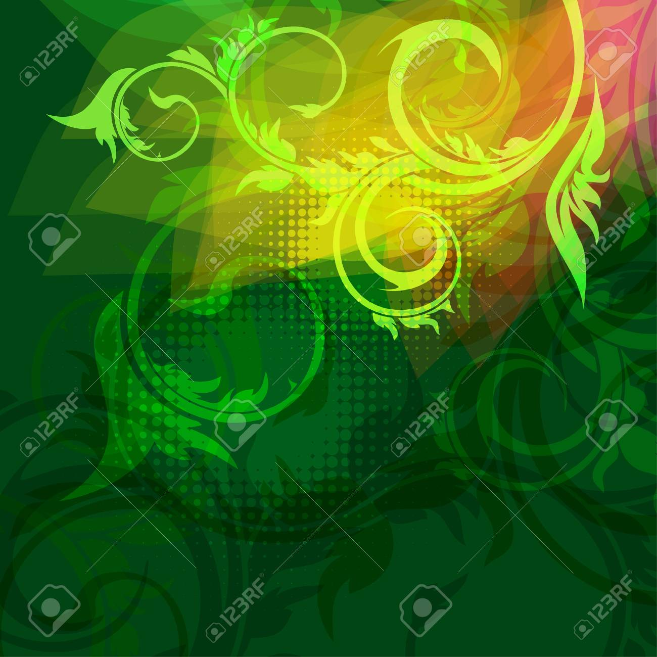 abstract background Stock Vector - 8566647