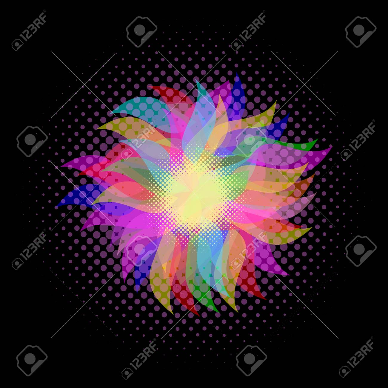 abstract background Stock Vector - 8635972