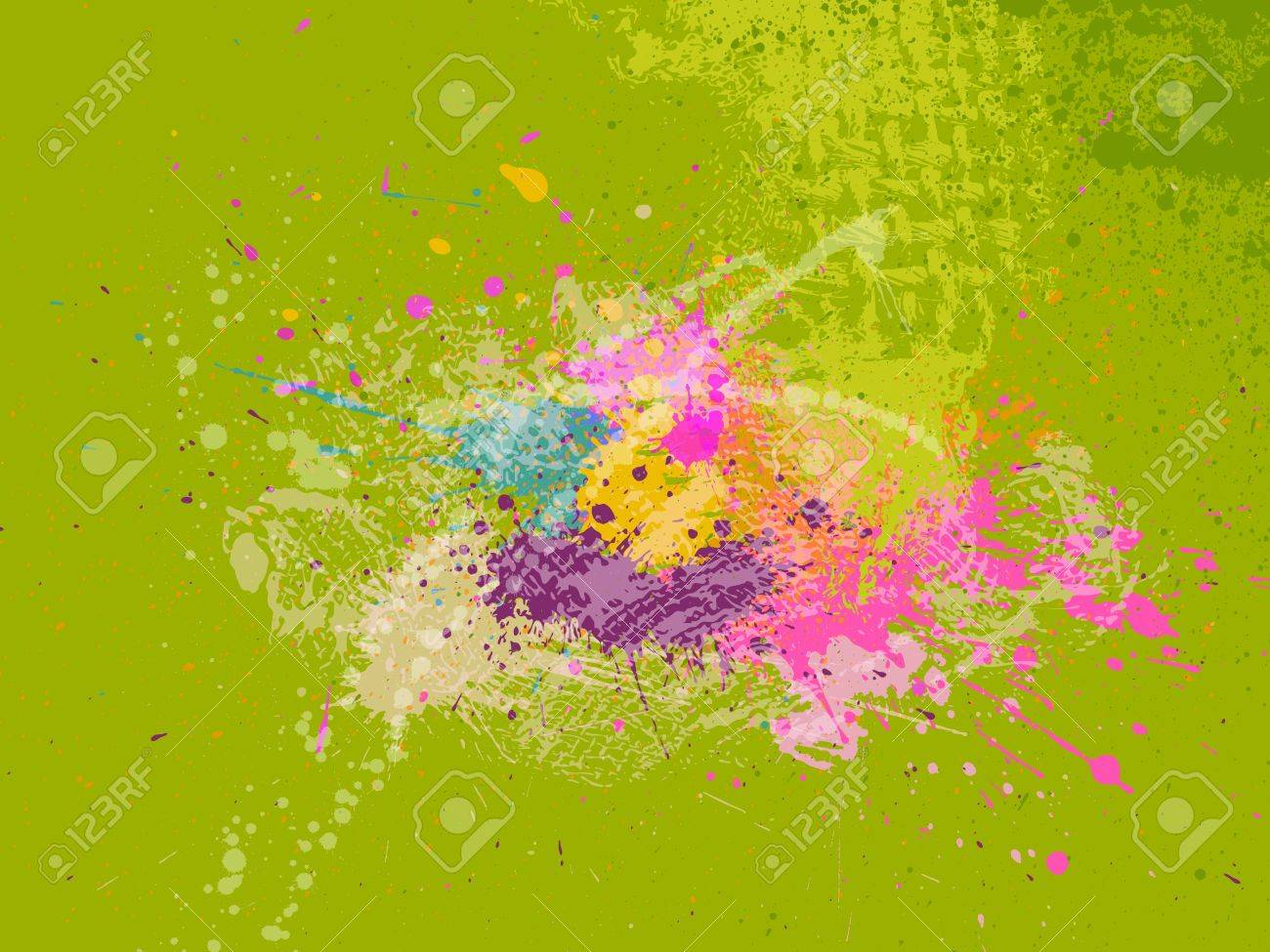 abstract grunge background, vector eps10 with transparency - 9344547