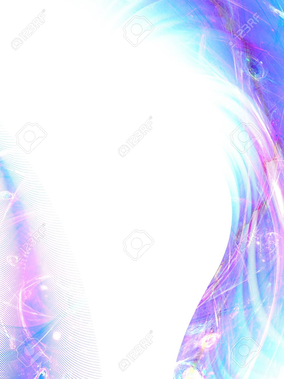 beautiful abstract fantasy composition with blur effect Stock Photo - 15297843