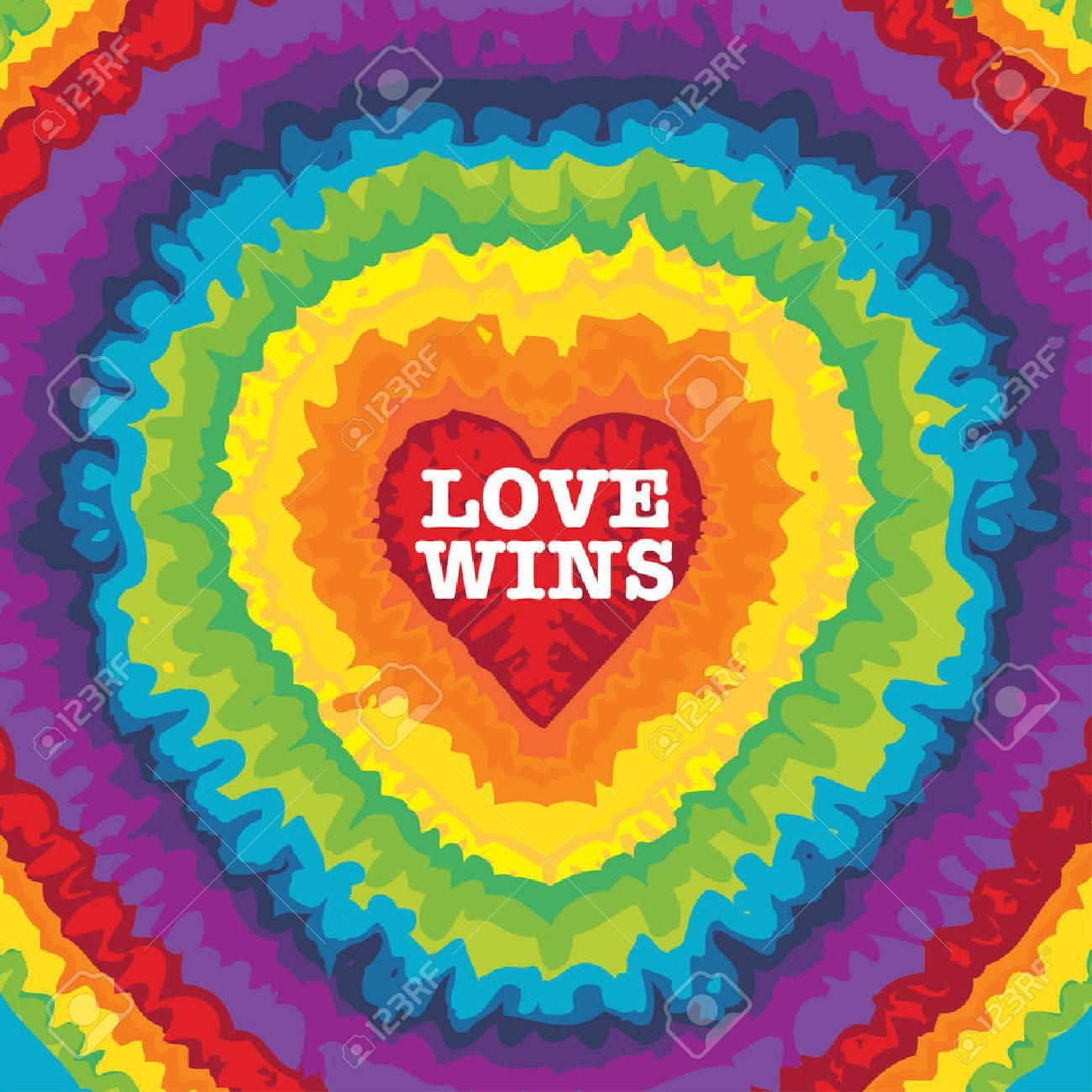 LOVE WINS illustration - 51980214