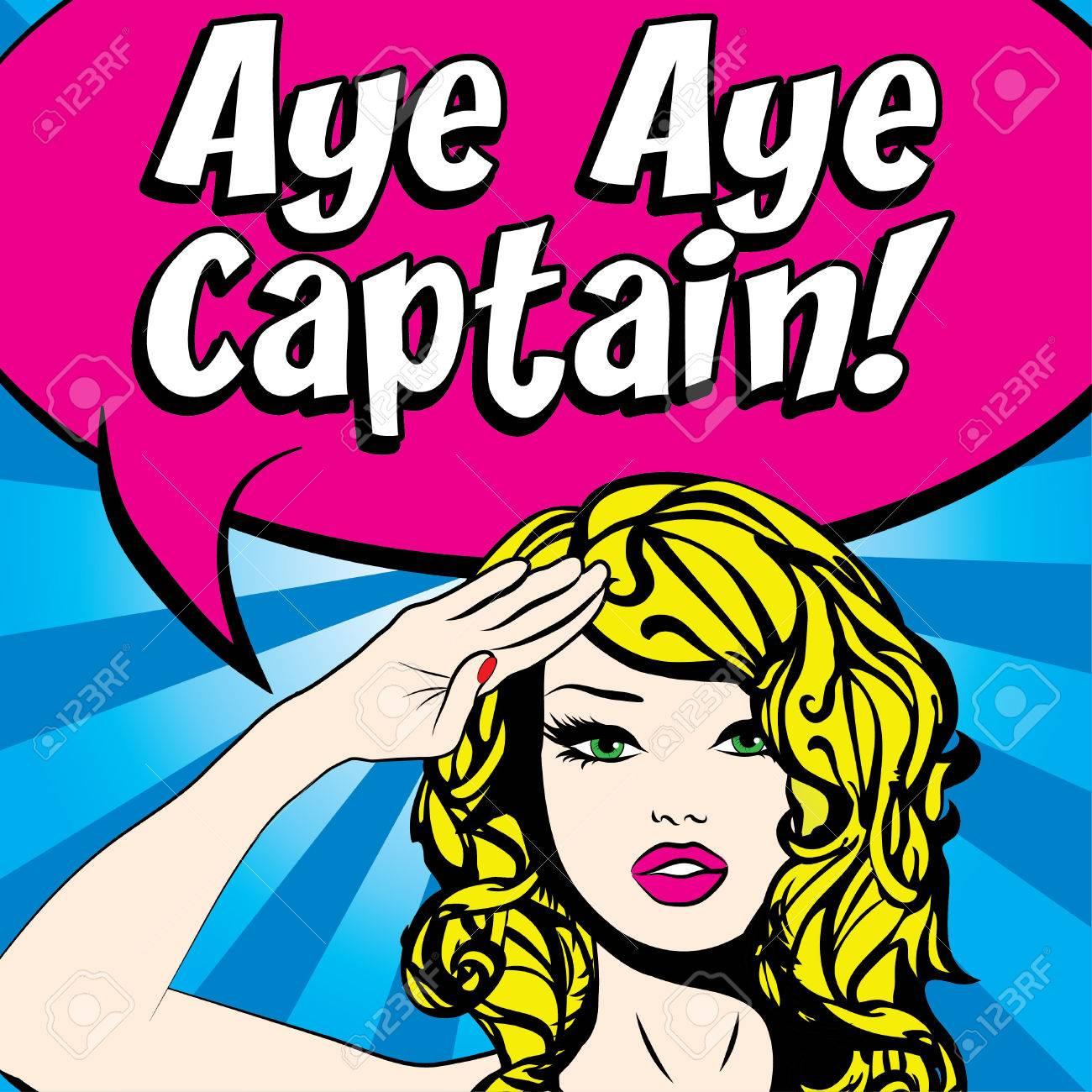 ay captain Postcard ay