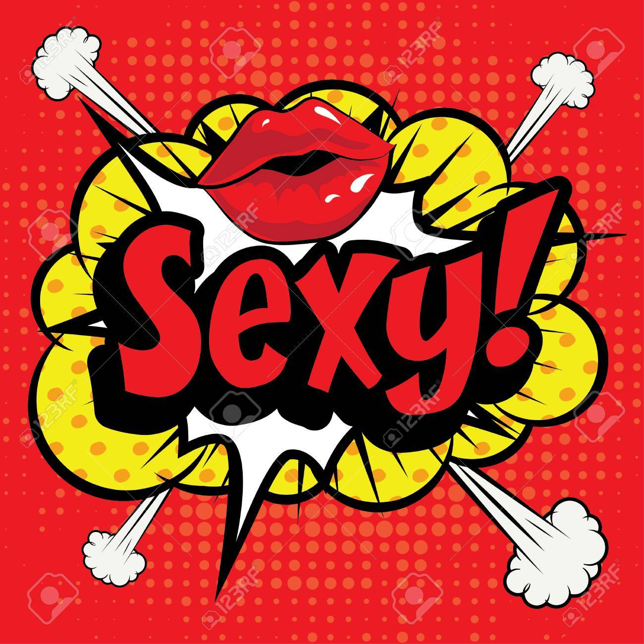 Pop art comics icon - 51671348