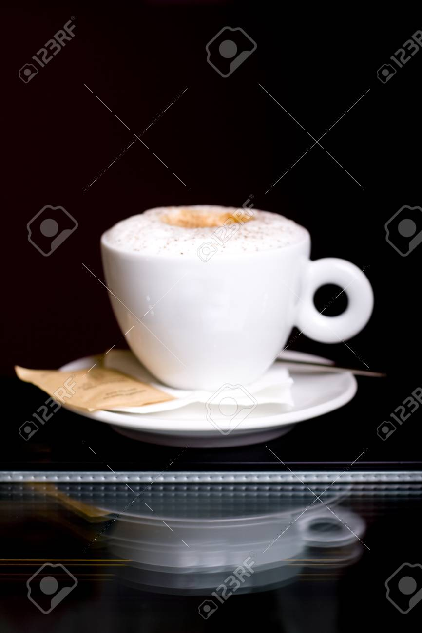 cappuccino cafe served in a restaurant Stock Photo - 10801068