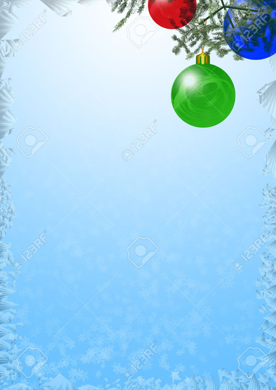 background on a theme christmas and new year with decorative elements fool size a4