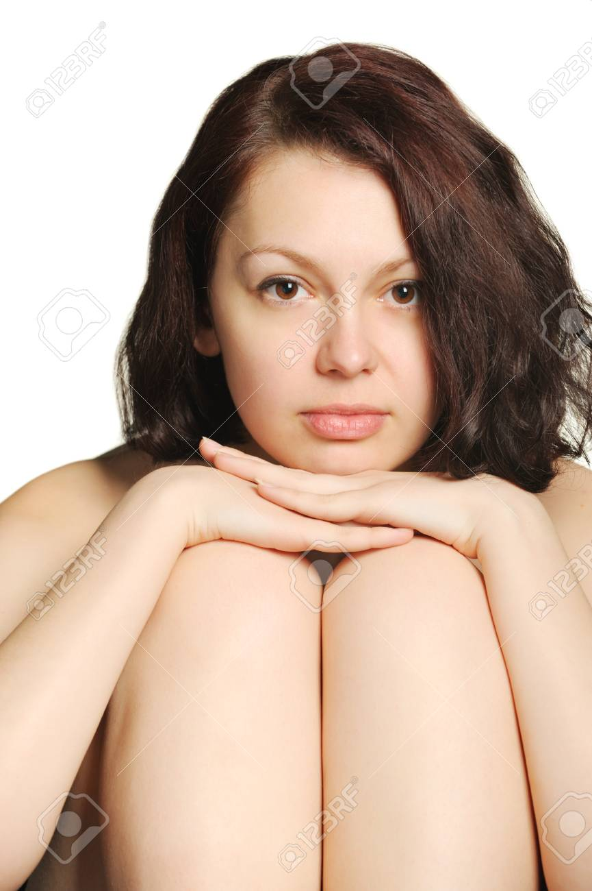 The beautiful young woman, head in a lap. Natural beauty. Stock Photo - 6924071