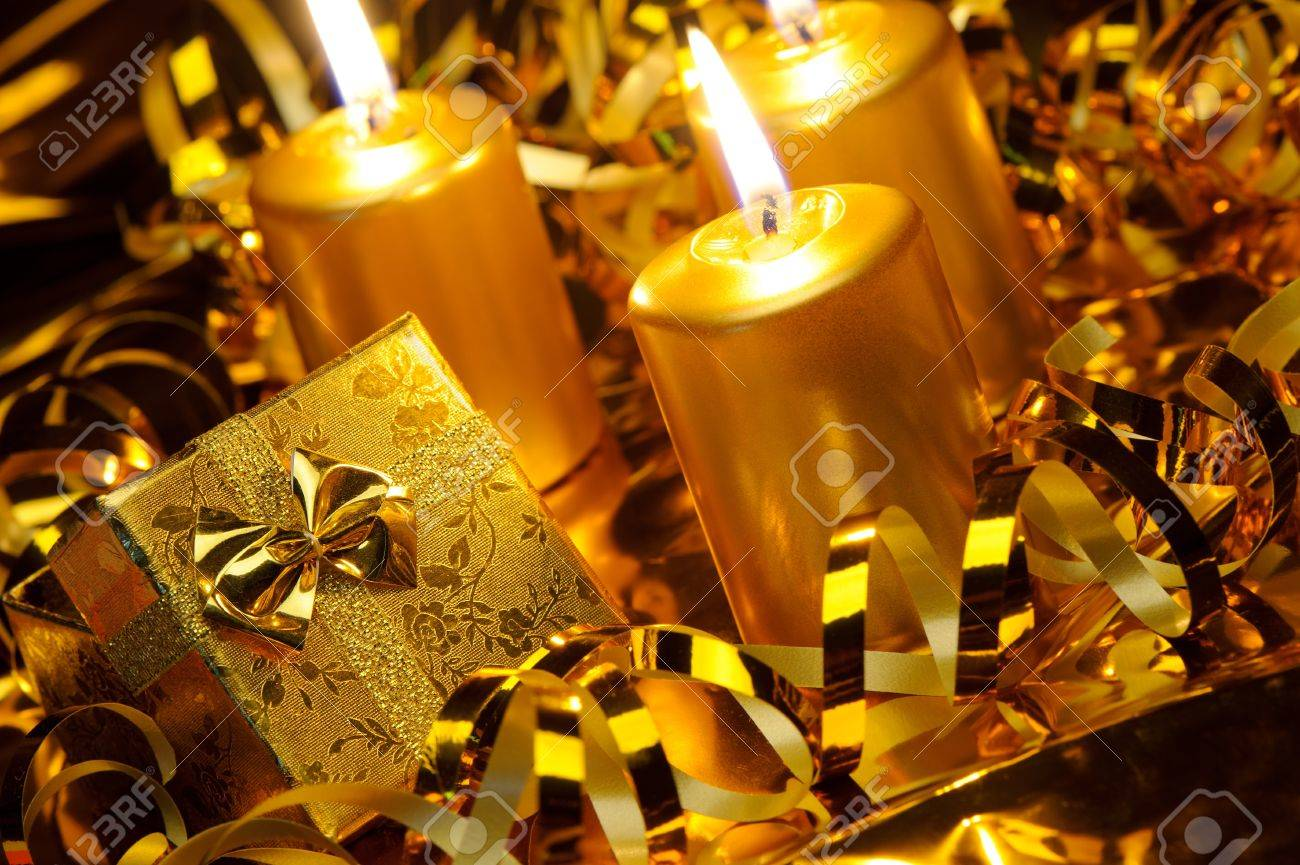 Image result for gold color candles