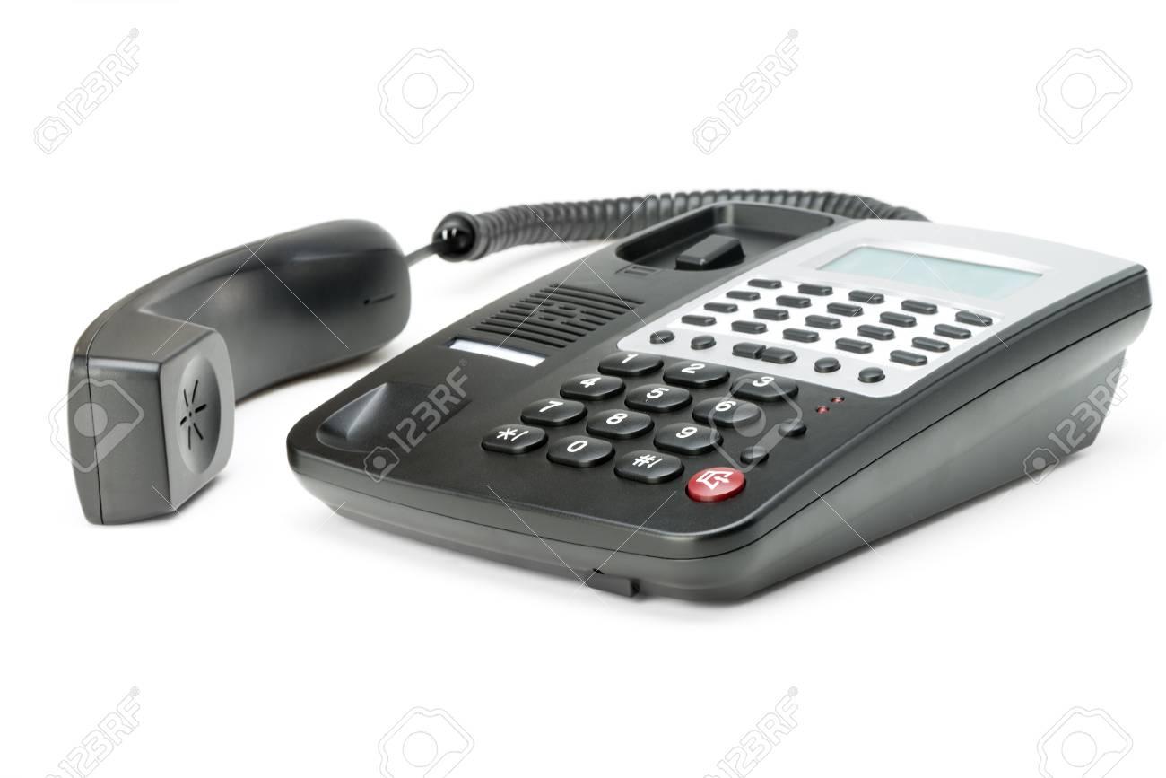 Phone isolated on white. Modern phone, high detailed photo. Stock Photo - 13760088