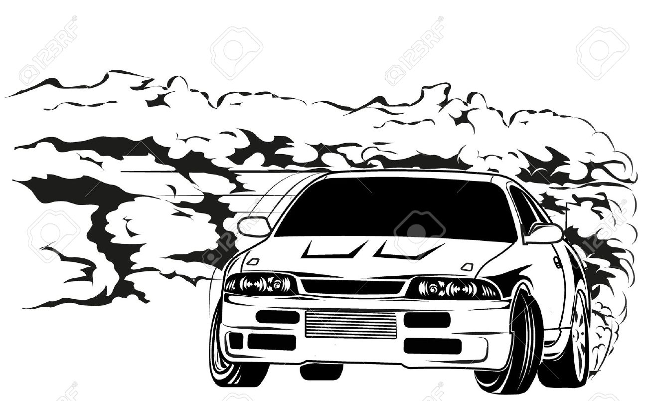 464 drift car stock vector illustration and royalty free drift car sport car drift biocorpaavc Image collections