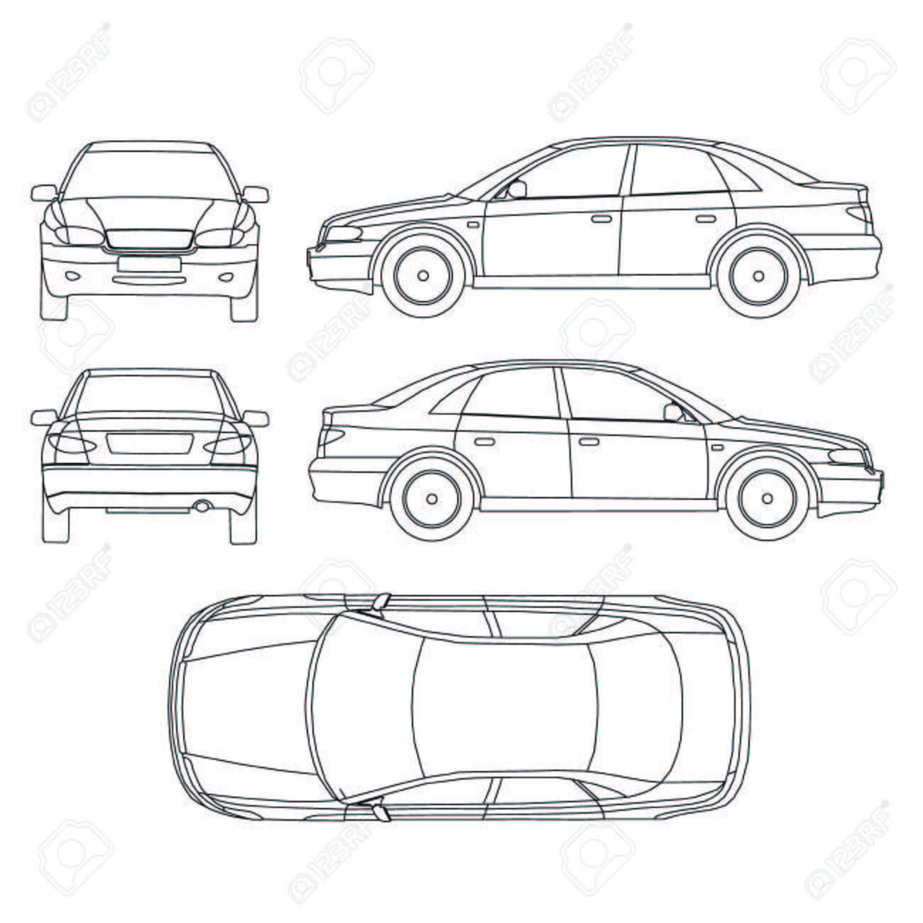 Car Crash Isurance Protocol Royalty Free Cliparts, Vectors, And ...