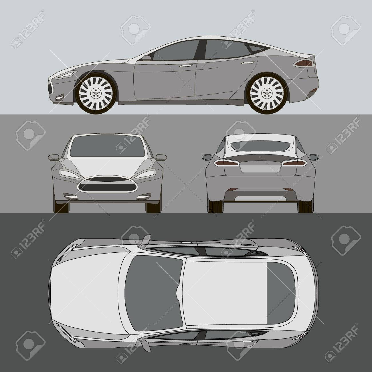 Car line draw insurance rent damage condition report form car line draw insurance rent damage condition report form blueprint stock vector 58812767 malvernweather Gallery