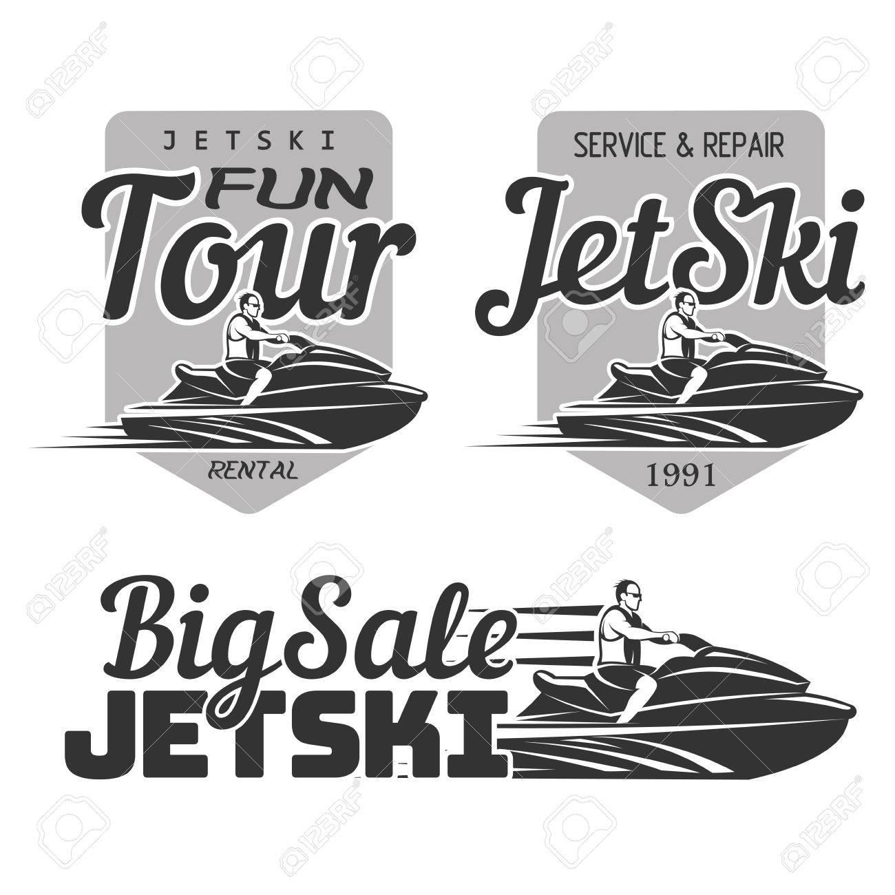Set of Jet Ski rental, fun tour, service and repair, big sale