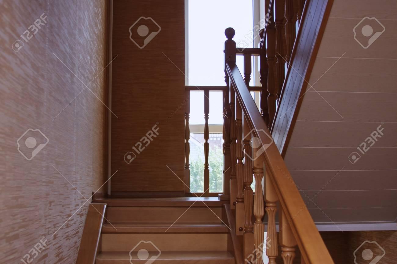 Interieur trap royalty vrije foto plaatjes beelden en stock