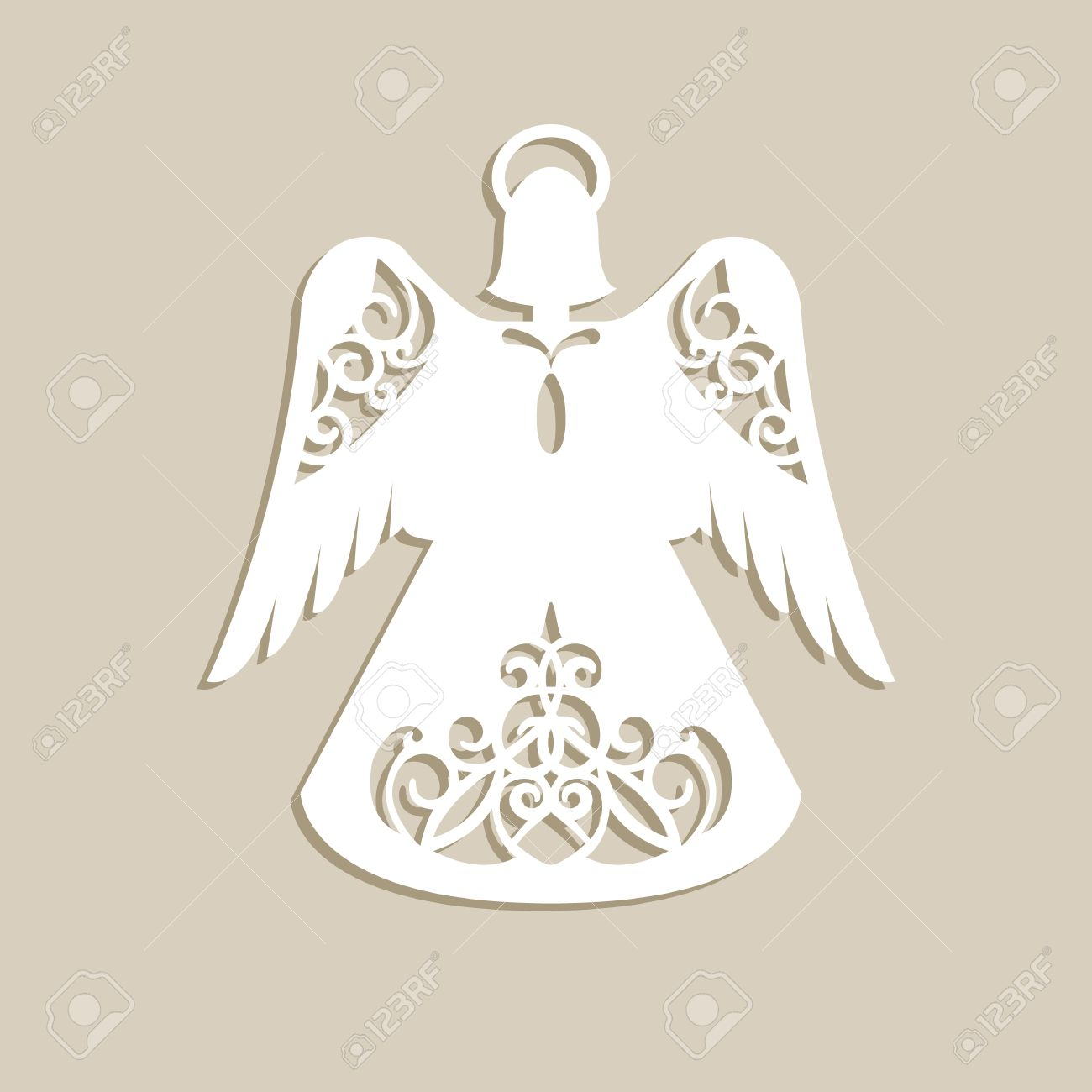 Cutout Angel Stock Photos And Images