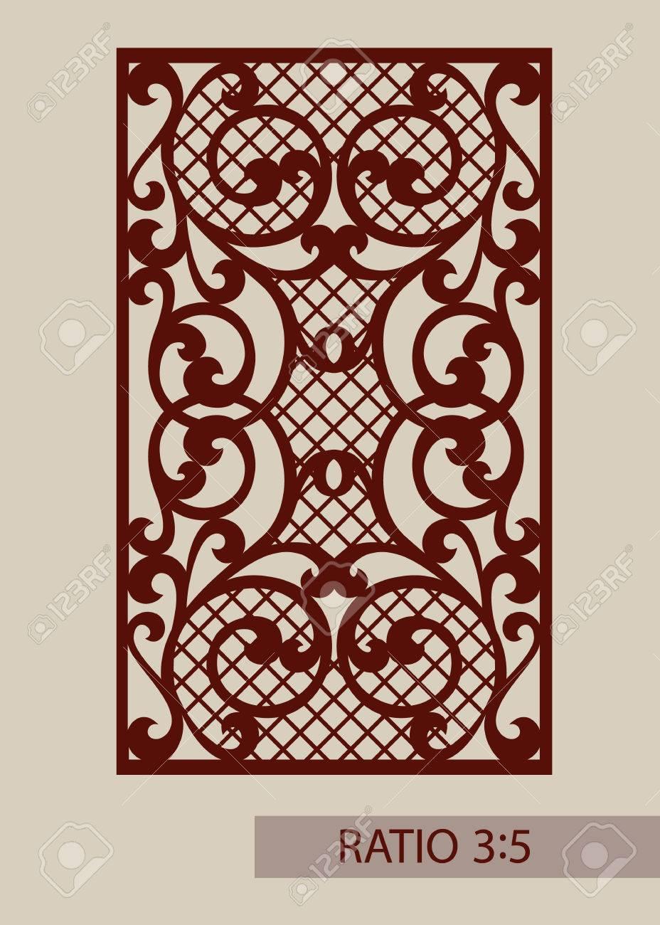 plantilla para los paneles decorativos la imagen es adecuada para