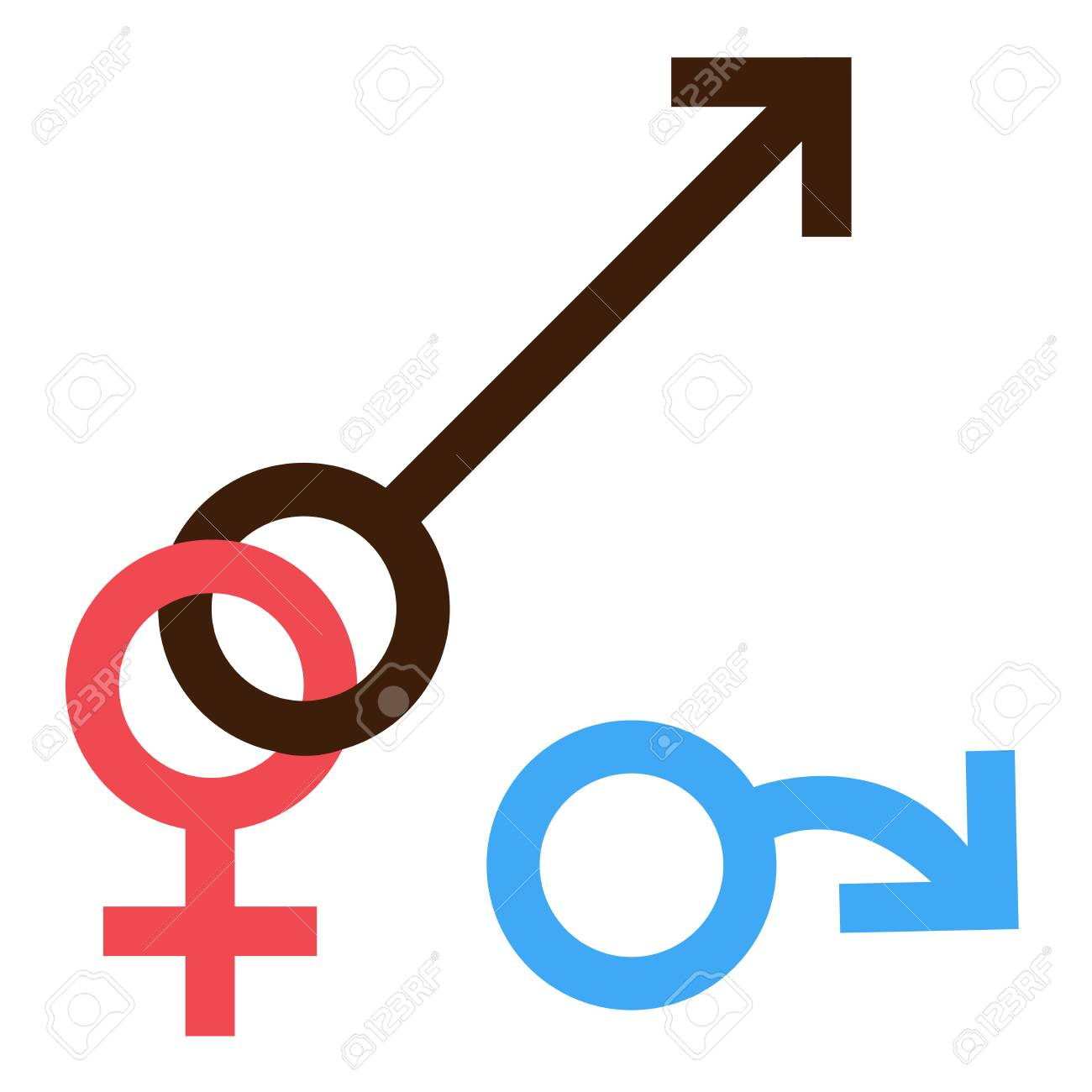 Sex Symbol Gender Man And Woman Interracial Treason Connected