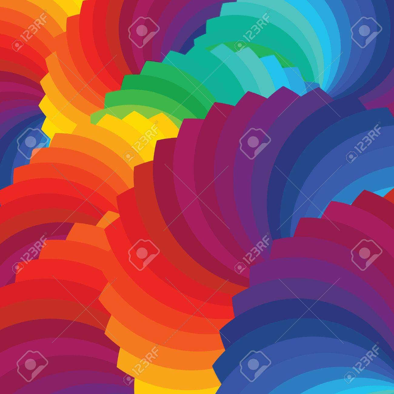 Color wheel background Illustration Stock Vector - 19908595