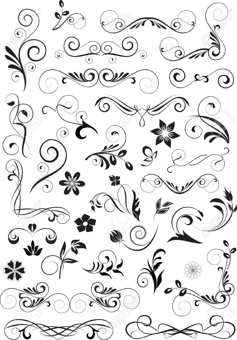 Small Designs which 2 small designs on raised plaster small designs 2 stencil set victorian wall Vector Small Elements For Design