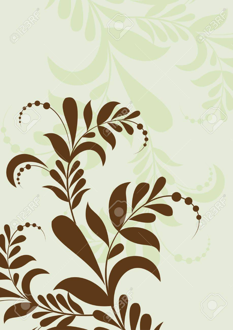 floral background Stock Vector - 9375352