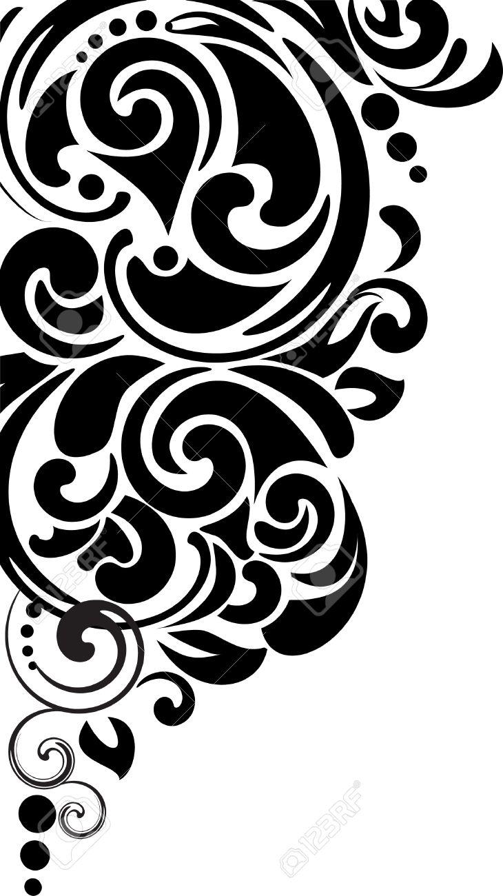 decorative floral corner royalty free cliparts vectors and stock illustration image 9936026 decorative floral corner
