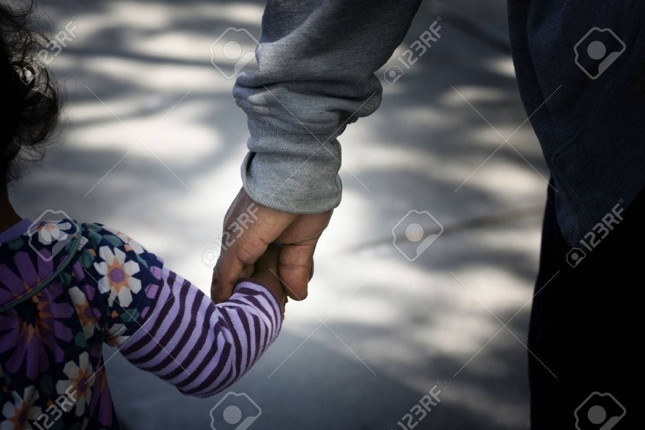 AfricanAmerican Family: father and child - 40965667
