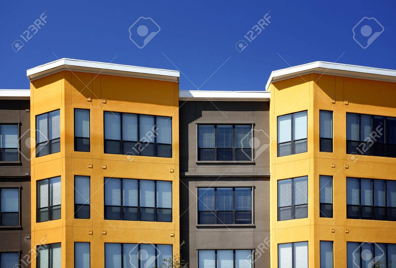 Austin, Texas, 10. Modern New Apartment (condo) Complex, Windows ...