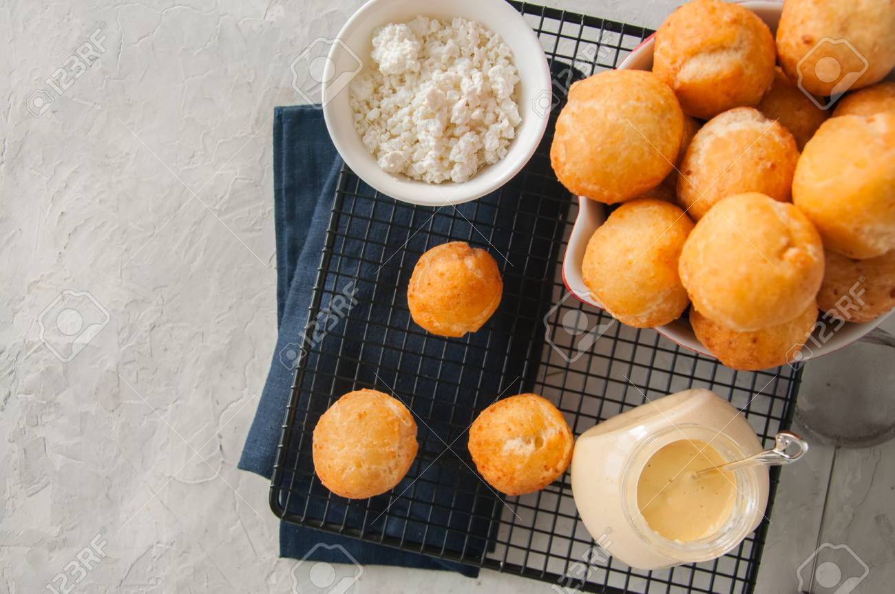 Cottage cheese donuts are a great dessert for breakfast 58