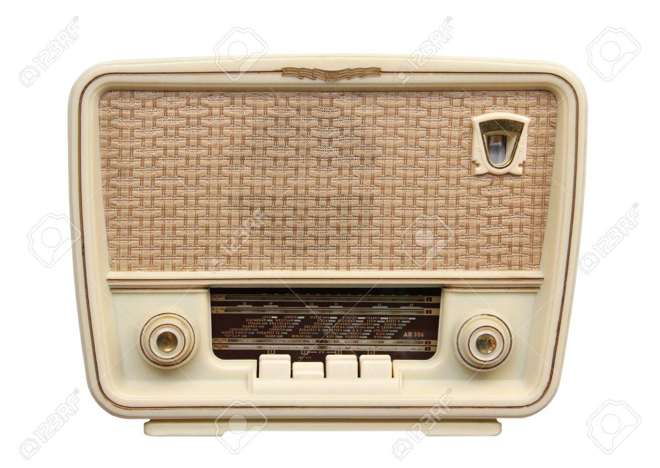Radio 1950s Music Old Radio From 1950 And The