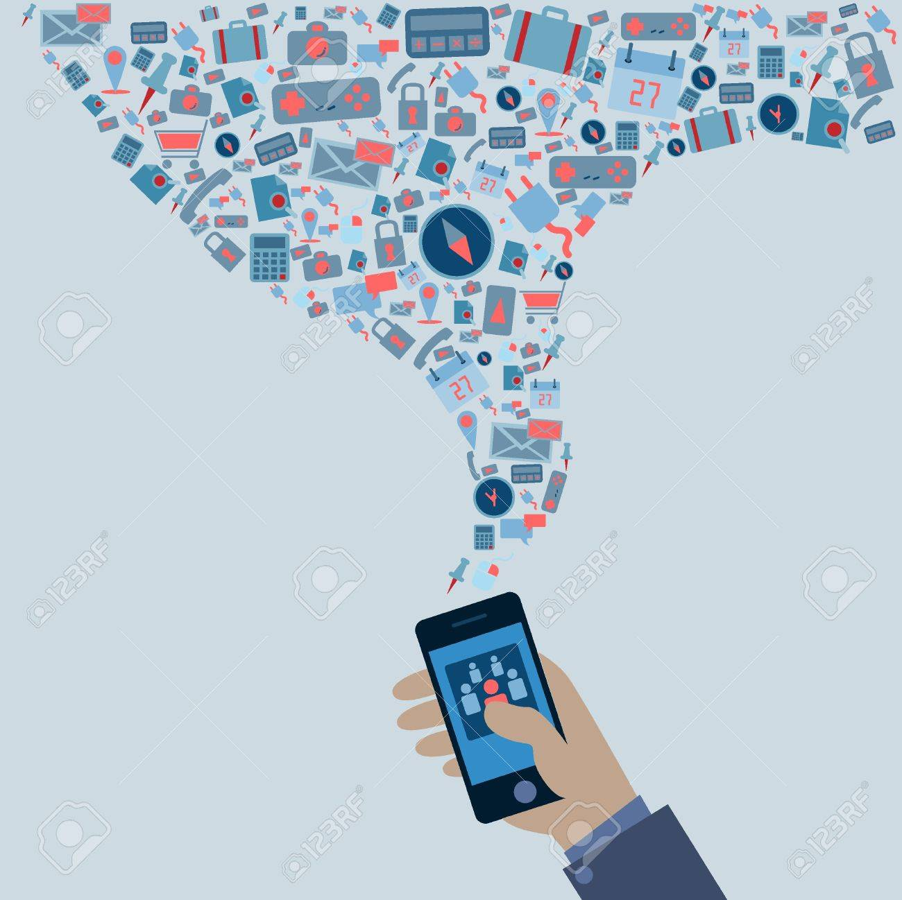Smartphone Stock Vector - 21150278