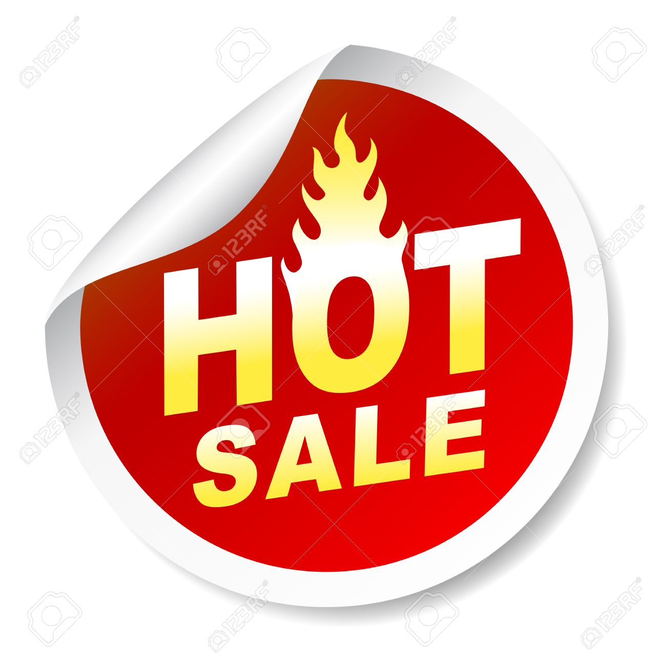 hot sale sticker badge with flame royalty free cliparts vectors rh 123rf com sale victoria secret sale victoria australia