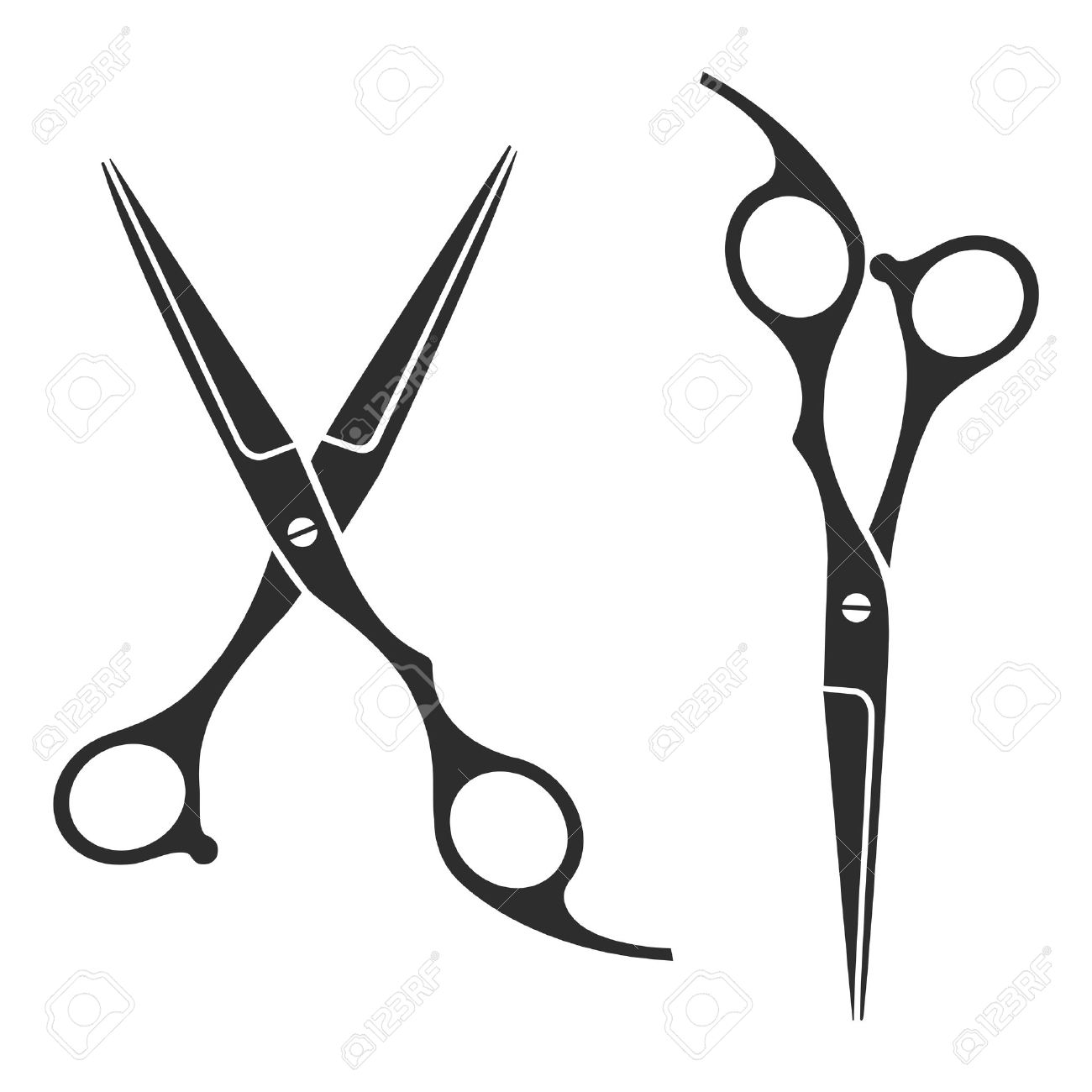 Clip art vector of vintage barber shop logo graphics and icon vector - Vector Similar Images Add To Likebox Barbershop Vintage Barber Shop Scissors Logo Label Badge