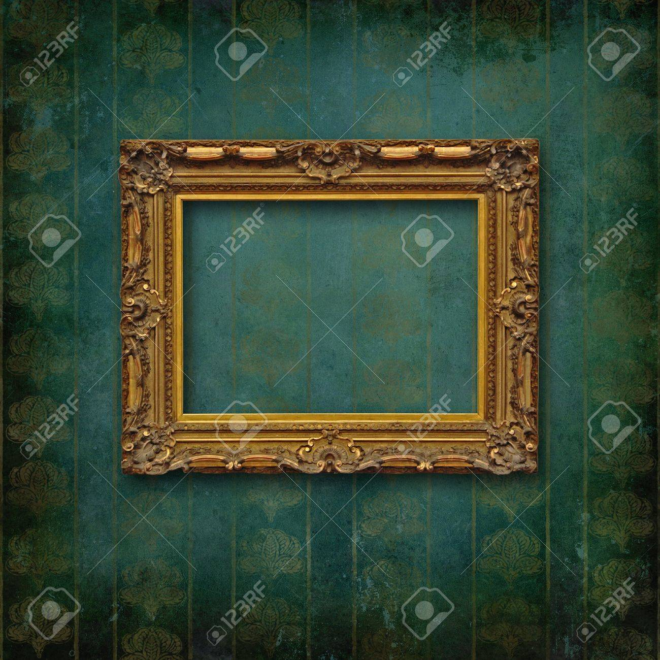 Vintage frame on faded grunge stylized texture Stock Photo - 14168879