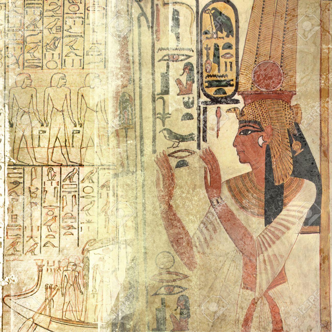 Grunge ancient Egypt Stock Photo - 29223124