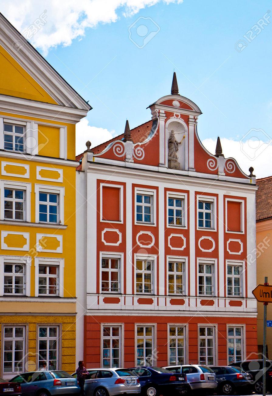 LANDSHUT GERMANY Urban View Of Landshut Bavarian Town Near Munich Was