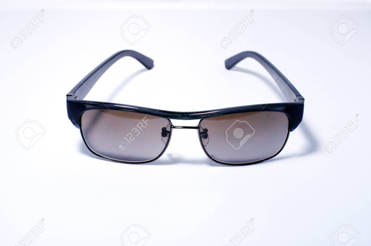 Sunglasses aviator style isolated Stock Photo - 13087094