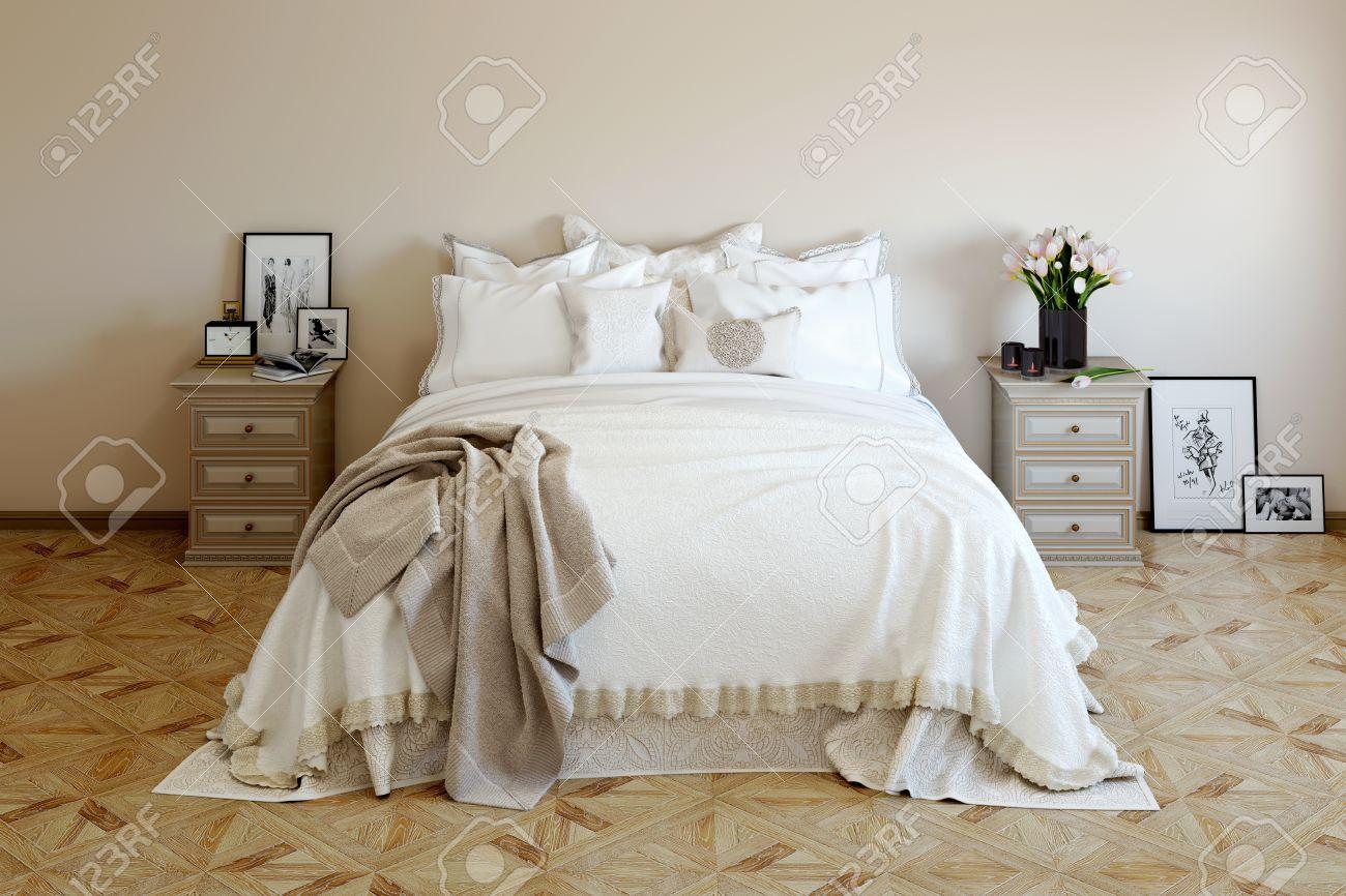 Immagini Camere Da Letto Romantiche : Arredamento camera da letto romantica con teneri fiori freschi