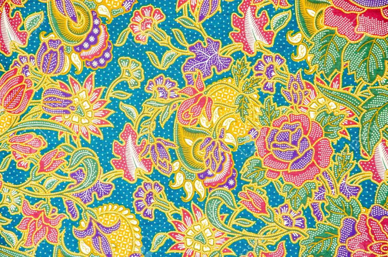 Batik Background Stock Photo, Picture And Royalty Free Image. Image ...