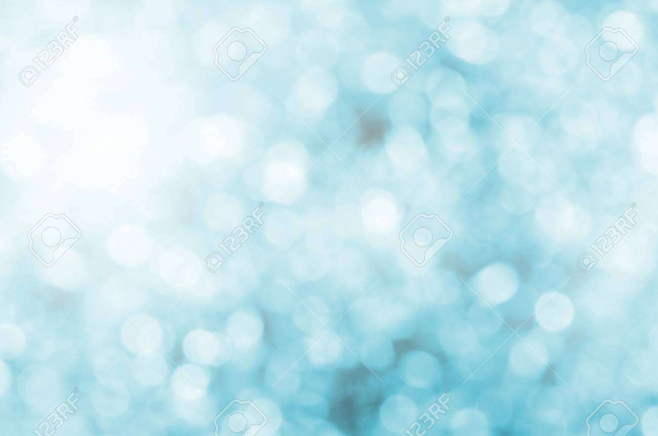 Blue bokeh abstract background. - 40634872